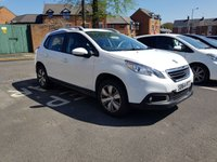 USED 2014 64 PEUGEOT 2008 1.4 HDI ACTIVE 5d 68 BHP £20 A YEAR ROAD  TAX, 70 MPG COMBINED, VERY COMFORTABLE AND SPACIOUS