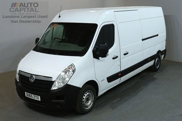 2015 65 VAUXHALL MOVANO 2.3 F3500 L3H2 CDTI 109 BHP LWB H/ROOF VAN LOW MILEAGE / ONE OWNER