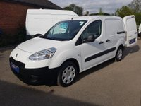 2015 PEUGEOT PARTNER 625 PROFESSIONAL WITH 3 SEATS & AIR-CONDITIONING £5295.00
