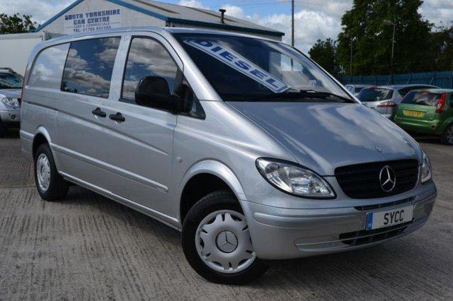 2008 58 MERCEDES-BENZ VITO 2.1 111CDI Dualiner Comfort 6 Seat Long Van