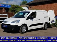 2011 CITROEN BERLINGO 625 ENTERPRISE WITH AIR-CON & FULL ELECTRIC PACK £5295.00