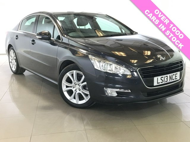 View our 2013 13 PEUGEOT 508 2.0 HDI ACTIVE NAVIGATION VERSION 4d 140 BHP