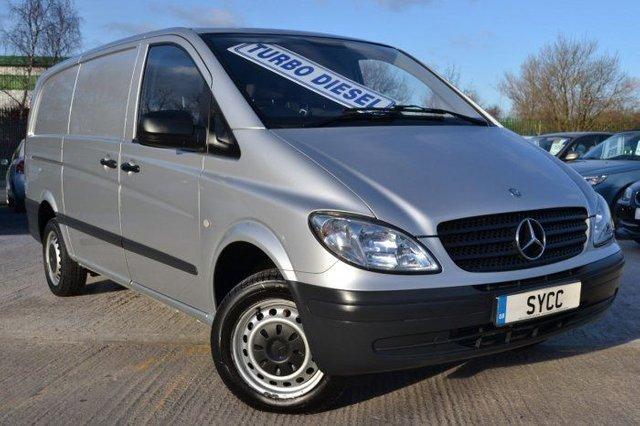 2010 60 MERCEDES-BENZ VITO 2.1 111CDI Long Van