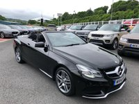 USED 2014 14 MERCEDES-BENZ E CLASS 2.1 E250 CDI AMG SPORT 2d AUTO 204 BHP Obsidian Black Met, AMG Package, COMAND Sat Nav, heated seats ++