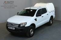 USED 2013 13 FORD RANGER 2.2 XL 4X4 TDCI 148 BHP A/C 2 OWNER FROM NEW, SERVICE HISTORY