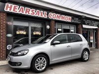 USED 2011 11 VOLKSWAGEN GOLF 2.0 GT TDI BLUEMOTION TECHNOLOGY 5d 138 BHP