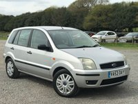 2004 FORD FUSION 1.6 FUSION 3 5d 100 BHP £1500.00