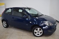 USED 2008 57 FORD FIESTA 1.2 ZETEC CLIMATE 16V 3d 78 BHP