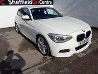 2013 BMW 1 SERIES 2.0 118D M SPORT 3d 141 BHP £10675.00
