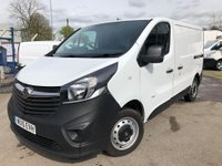USED 2015 15 VAUXHALL VIVARO 1.6 2900 L1H1 CDTI P/V ECOFLEX 1d 89 BHP IMMACULATE CONDITION