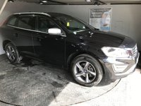 USED 2014 64 VOLVO XC60 2.4 D5 R-DESIGN LUX NAV AWD 5d AUTO 212 BHP Bluetooth : Satellite Navigation      :      DAB Radio      :      Wi-Fi      :      R-Design steering wheel      : R-Design contrasting leather upholstery   :   Heated front seats   :   Electric driver's seat : Remotely operated tailgate   :   Rear parking sensors   :   Full Volvo service history