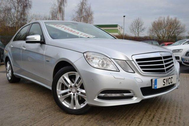 2012 12 MERCEDES-BENZ E CLASS 2.1 E220 CDI BlueEFFICIENCY Executive SE 4dr Tip Auto