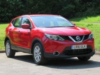 USED 2016 16 NISSAN QASHQAI 1.2 ACENTA DIG-T XTRONIC 5d AUTO 113 BHP 1 OWNER FROM NEW