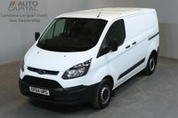 USED 2015 64 FORD TRANSIT CUSTOM 2.2 290 99 BHP L1 H1 SWB LOW ROOF    ONE OWNER FROM NEW, SERVICE HISTORY