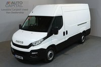 USED 2015 15 IVECO DAILY 2.3 35S13V 126 BHP L2 H3 MWB HIGH ROOF ONE OWNER FROM NEW, MOT UNTIL 24/03/2019