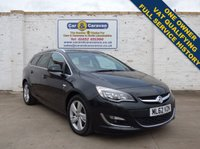 USED 2012 62 VAUXHALL ASTRA 2.0 SRI CDTI S/S 5d 163 BHP One Owner Full Dealer History 0% Deposit Finance Available