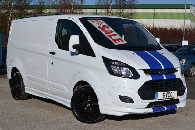 2018 FORD TOURNEO CUSTOM 2.2 TDCi M SPORT STYLE 100ps Low Roof Van