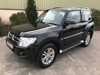 USED 2012 12 MITSUBISHI SHOGUN 3.2 DI-D SG2 3d 197 BHP 5 SEATER, HEATED SEATS, TOW BAR, NEW TYRES, SERVICE HISTORY