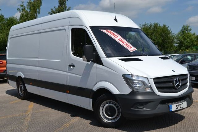 2018 MERCEDES-BENZ SPRINTER 2.1 CDI 313 Extra High Roof 5dr LWB