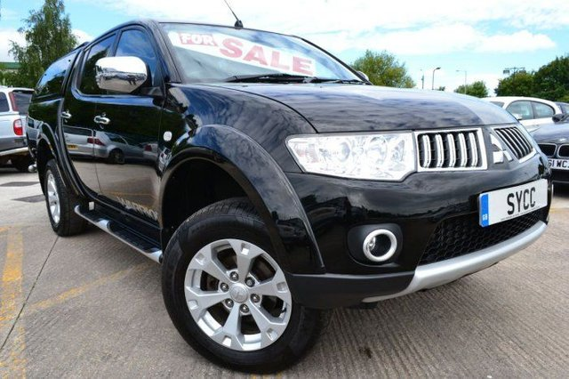 2012 62 MITSUBISHI L200 2.5 D/Cab DI-D Warrior II 4WD 176Bhp [2010] Leather