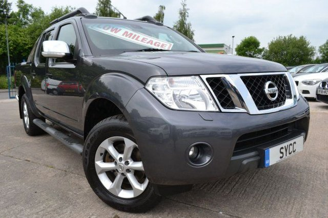2018 NISSAN NAVARA 2.5dCi 190 4WD Double Cab Pick Up Tekna