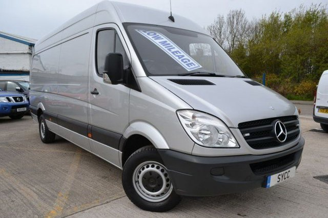 2012 61 MERCEDES-BENZ SPRINTER 2.1 3.5t Van LWB HIGH ROOF 129 BHP