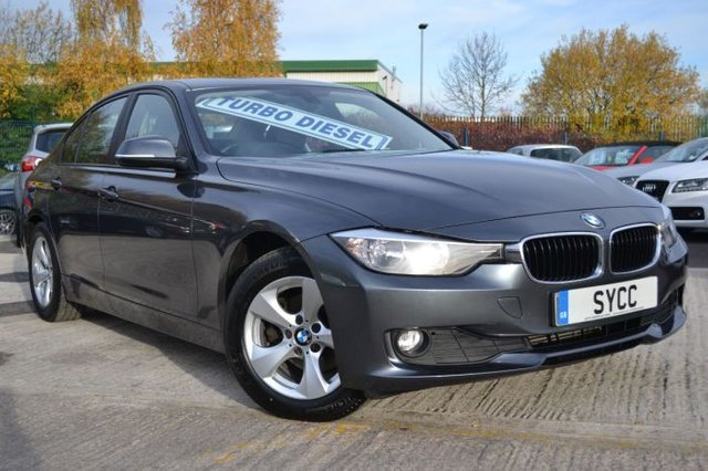 2012 BMW 3 SERIES 2.0 320d EfficientDynamics 4dr
