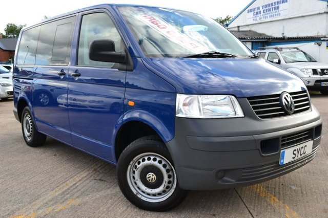 2005 55 VOLKSWAGEN TRANSPORTER 1.9TDI PD T30 104PS Disabled Access Window Van