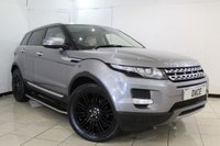 USED 2012 12 LAND ROVER RANGE ROVER EVOQUE 2.2 SD4 PRESTIGE 5DR 190 BHP SERVICE HISTORY + HEATED LEATHER SEATS + SAT NAVIGATION + PANORAMIC ROOF + REVERSE CAMERA + BLUETOOTH + CRUISE CONTROL + MULTI FUNCTION WHEEL + CLIMATE CONTROL + 19 INCH ALLOY WHEELS