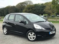 USED 2010 59 HONDA JAZZ 1.3 I-VTEC ES 5d 98 BHP SAME DAY DRIVE AWAY FINANCE / ONE LADY OWNER FROM NEW / FULL HONDA SERVICE HISTORY