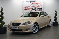 2008 LEXUS IS 2.5 250 SE-L 4d AUTO 204 BHP £6790.00