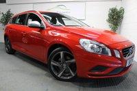 2011 VOLVO V60 1.6 DRIVE R-DESIGN S/S 5d 113 BHP £6650.00