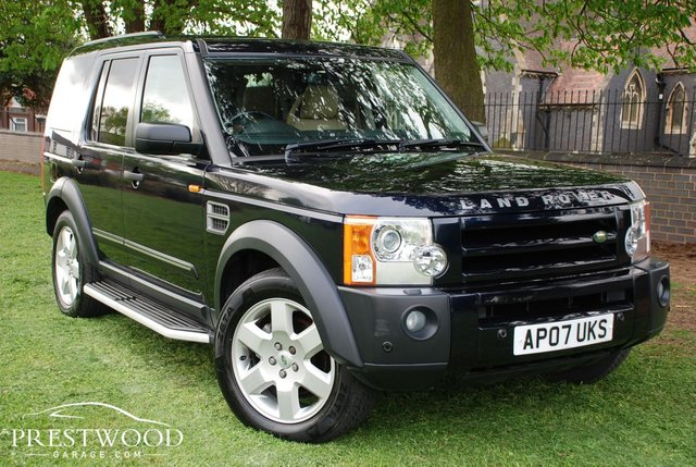 2007 07 LAND ROVER DISCOVERY 3 2.7 TDV6 HSE AUTO [190 BHP]