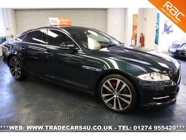 2013 13 JAGUAR XJ  PREMIUM LUXURY SPORT WITH SUPER SPORT AND SPEED PACK