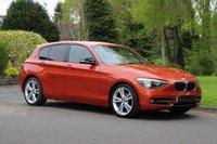 2011 BMW 1 SERIES 1.6 116I SPORT 5d 135 BHP £8490.00