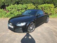 2012 AUDI TT 2.0 TDI QUATTRO S LINE BLACK EDITION 2d 168 BHP £10990.00