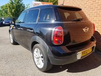 USED 2012 12 MINI COUNTRYMAN 1.6 COOPER D 5d CHILLI PACK -- RED / BLACK LEATHER