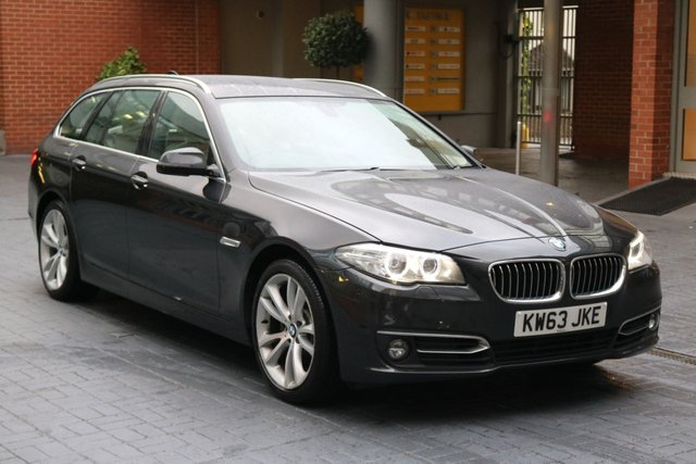 2014 63 BMW 5 SERIES 2.0 520D LUXURY TOURING 5d AUTO 181 BHP