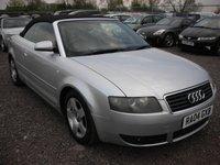 2004 AUDI A4 1.8 T 2d 161 BHP £1595.00