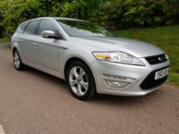 USED 2012 12 FORD MONDEO 2.0 TITANIUM TDCI 5d 138 BHP **1 OWNER**FULL HISTORY**SUPERB DRIVE**