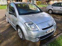2005 CITROEN C2 1.1 SX 3d 60 BHP £1495.00