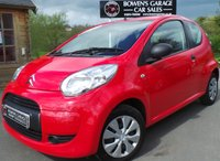 USED 2011 11 CITROEN C1 1.0 VT 3d 68 BHP 2 Owners - 6 Service Stamps - £20 Tax - Perfect First Car