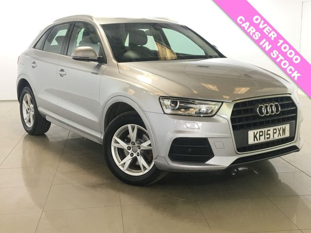 View our 2015 15 AUDI Q3 2.0 TDI SE NAV 5d 148 BHP