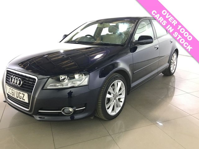 View our 2012 61 AUDI A3 1.4 TFSI SPORT 5d AUTO 123 BHP