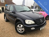 USED 2003 03 MERCEDES-BENZ M CLASS 3.7 ML350 5d AUTO 245 BHP Low Mileage - Stunning ML heated seats and reverse camera