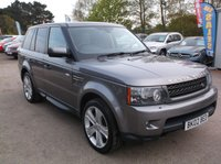 USED 2010 02 LAND ROVER RANGE ROVER SPORT 3.6 TDV8 SPORT HSE 5d AUTO 269 BHP HIGHLY SPECIFIED 4X4 DIESEL / AUTOMATIC FAMILY CAR  WITH EXCELLENT SERVICE HISTORY, EXCELLENT SPEC, DRIVES SUPERBLY !!