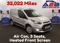 USED 2015 15 FORD TRANSIT CONNECT TREND 1.6 220 95 BHP 32,022 Miles, 3 Seats, Air Con *Over The Phone Low Rate Finance Available*   *UK Delivery Can Also Be Arranged*           ___       Call us on 01709 866668 or Send us a Text on 07462 824433
