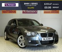 USED 2014 14 BMW 1 SERIES 1.6 116I M SPORT 5d 135 BHP