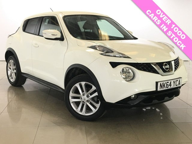View our 2014 64 NISSAN JUKE 1.6 ACENTA XTRONIC 5d AUTO 117 BHP