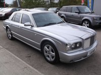 USED 2002 L BENTLEY ARNAGE 6.8 T 4d AUTO 451 BHP STUNNING VEHICLE THROUGHOUT,  SERVICE HISTORY, MASSIVE SPEC, DRIVES SUPERBLY !!